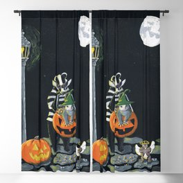 The Trick Or Treaters by Mary Bottom (Mr Harry Badger Series) Blackout Curtain