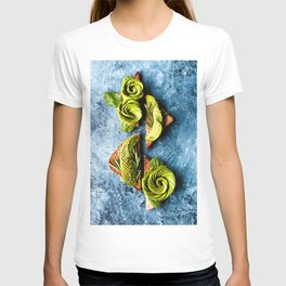Avocado Foodie Art T-shirt