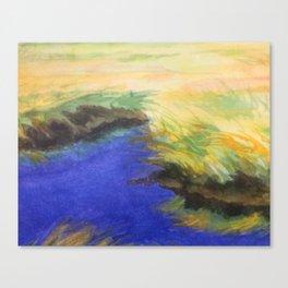 Saltwater Marsh Canvas Print