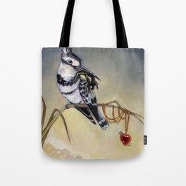 King of Hearts (Bird) Tote Bag