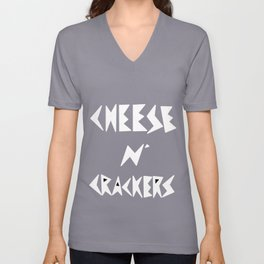 Cheese N' Crackers 2 Unisex V-Neck