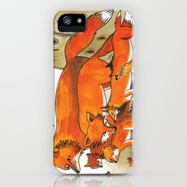 Noah's Ark - Fox iPhone Case