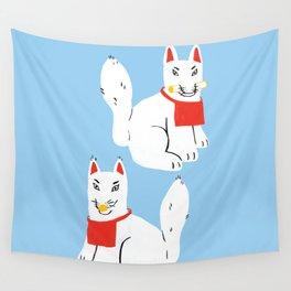 Kitsune - Japanese Messenger Fox Wall Tapestry