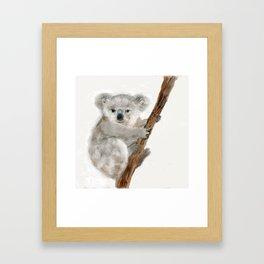 Katie Koala Framed Art Print
