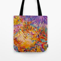 marc johns Tote Bags featuring Marc by JR Schmidt