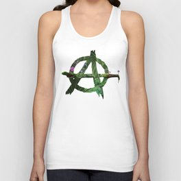 A is for All Natural Unisex Tank Top
