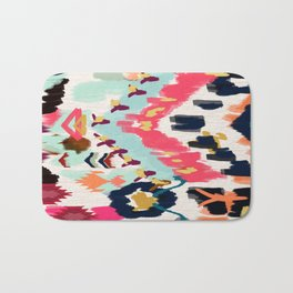Bohemian Tribal Painting Bath Mat