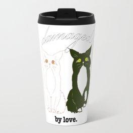 Damaged. by love Travel Mug