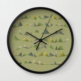 Musical Mountains 1 Wall Clock