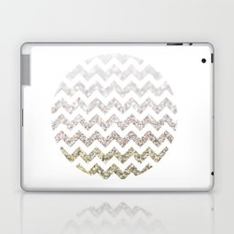 Glitter Chevron Laptop & iPad Skin