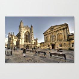 Bath Abbey & Pump Rooms  Canvas Print