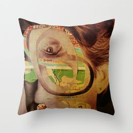 Michael D6 Throw Pillow