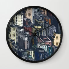 In the city Wall Clock
