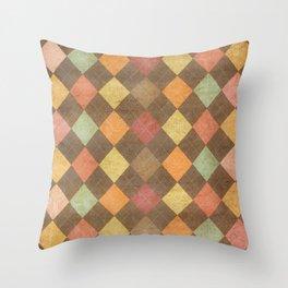 pattern grundgy Throw Pillow