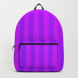 Violet Stripes Backpack