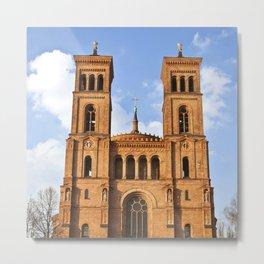Sant Thomas Church in Berlin Metal Print