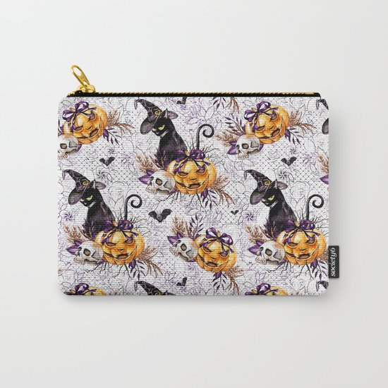 Halloween Witch #4 Carry-All Pouch