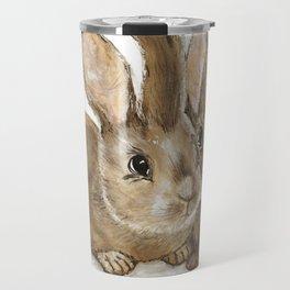 Oliver & Jack - Wild Rabbits Travel Mug