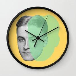 F. Scott Fitzgerald Wall Clock