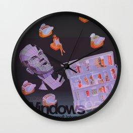 †Ɍïɭɭ 95 Wall Clock