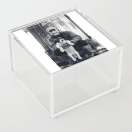 The vagabond and the puppet dog Acrylic Box