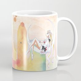 Can not Fight The Moonlight Watercolor Version Coffee Mug