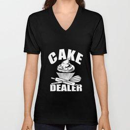 Cake Dealer Unisex V-Neck