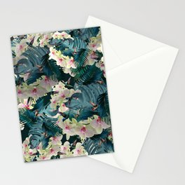 Jungle orchids Stationery Cards