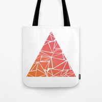 pyramid Tote Bags featuring Pyramid by Mariam Calitri