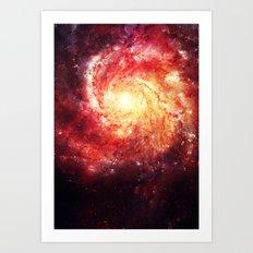 The galaxy that didn't exist! Art Print