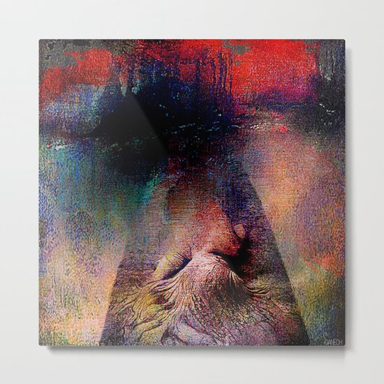And God created Adam  Metal Print