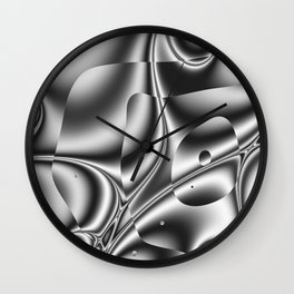 Element. Wall Clock