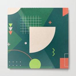Geometry Design 2 Metal Print