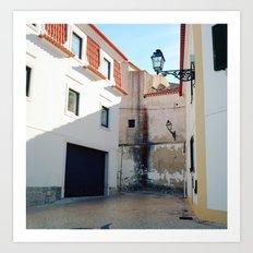 Portugal, Cascais (RR 187) Analog 6x6 odak Ektar 100 Art Print