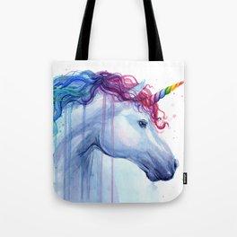 Magical Rainbow Unicorn Tote Bag