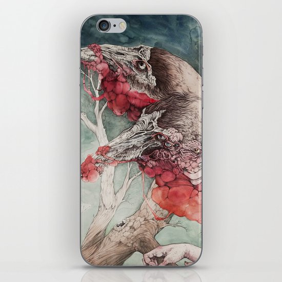 """Insatiable"", as a print iPhone & iPod Skin"