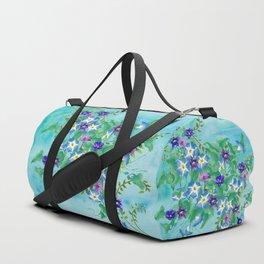Watercolor Spring Bouquet  Duffle Bag