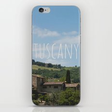 t u s c a n y 2 iPhone & iPod Skin