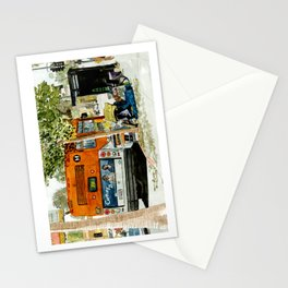 Homeless Series 5 ~ Sunset Blvd., Los Angeles, CA. Stationery Cards