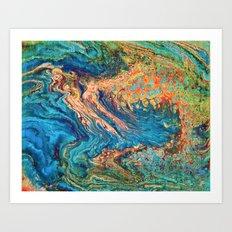 Fluid No. 05 Art Print