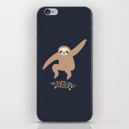 Sloth Gravity iPhone Skin