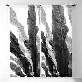 Banana Leaves Jungle #3 #tropical #decor #art #society6 Blackout Curtain