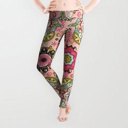 Mandala color pattern Leggings