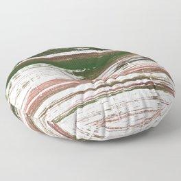 Kombu green abstract watercolor Floor Pillow