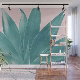 Blush Agave Finesse #1 #tropical #decor #art #society6 Wall Mural