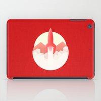 rocket iPad Cases featuring Rocket by Ramsay Lanier