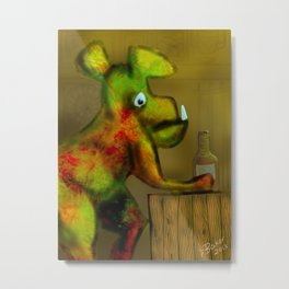 Somebody to love Metal Print