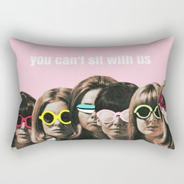 Mean Girl - You Can't Sit With Us Rectangular Pillow