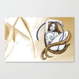 Golden Means Grace Canvas Print