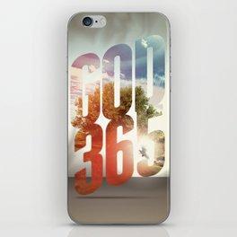 God 365 iPhone Skin